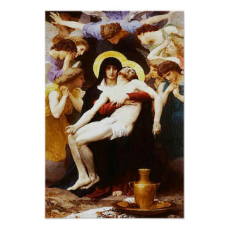 Pieta Jesus Crucifixion Lamentation Virgin Mary 02 Poster