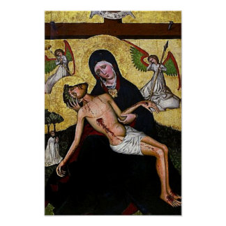 Pieta Jesus Crucifixion Lamentation Virgin Mary 04 Poster