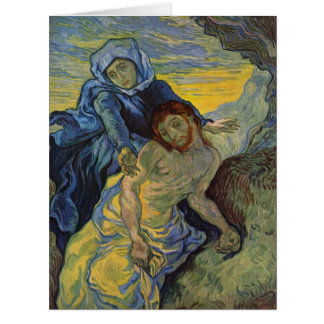 Pieta: Mary & Jesus Easter Card