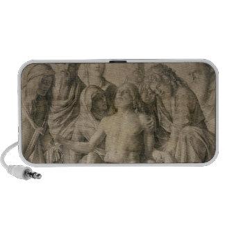 Pieta, The Dead Christ Travelling Speakers