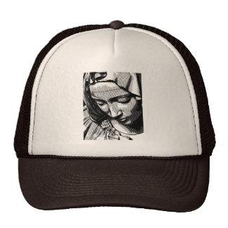 PIETA VIRGIN MARY  TRUCKER HATS