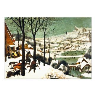 Pieter Bruegel Hunters in the Snow Art Photo