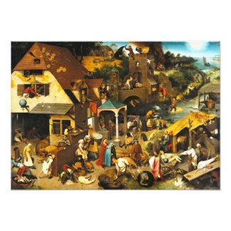 Pieter Bruegel Netherlandish Proverbs Photo