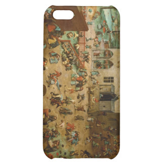 Pieter Bruegel the Elder - Children's Games iPhone 5C Cover
