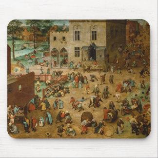 Pieter Bruegel the Elder - Children's Games Mousepads