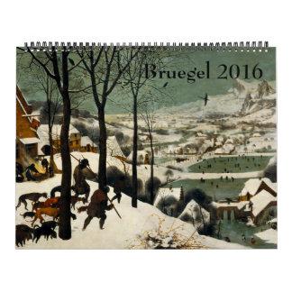 Pieter Bruegel the Elder Huge 2016 Calendar