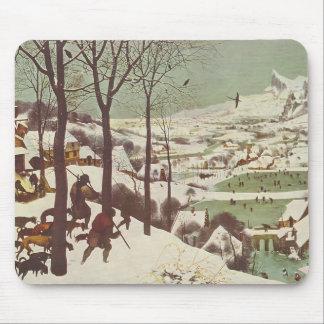 Pieter Bruegel the Elder- Hunters in the Snow Mouse Pads