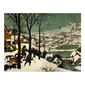 Pieter Bruegel the Elder - Hunters in the Snow Postcard