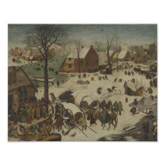 Pieter Bruegel the Elder -  Numbering at Bethlehem Photo Print