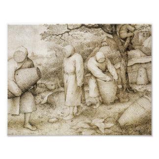 Pieter Bruegel the Elder - The Beekeepers Photo Print