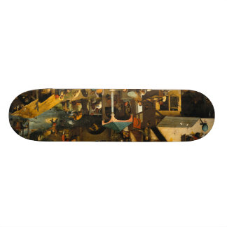 Pieter Bruegel the Elder - The Dutch Proverbs Skate Board