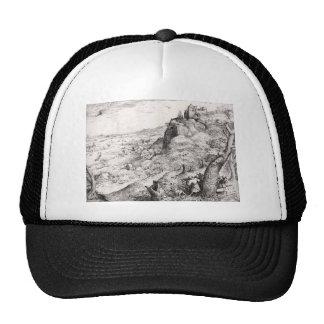 Pieter Bruegel the Elder- The Hare Hunt Mesh Hats