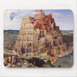 "Pieter Bruegel, ""The Tower of Babel"", 1563 Mouse Pad"