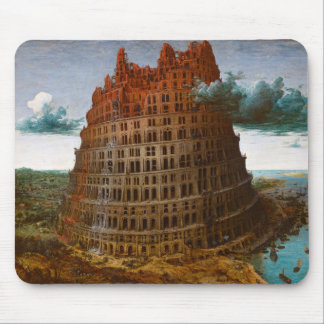 "Pieter Bruegel, ""The Tower of Babel"" and c.1568 Mouse Pad"