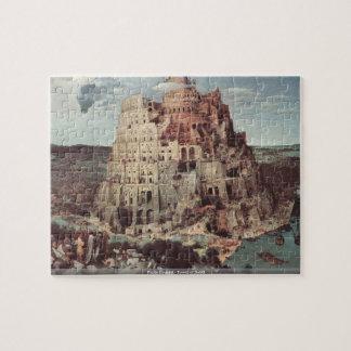 Pieter Bruegel - Tower of Babel puzzle