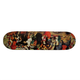 Pieter the Elder Art 20 Cm Skateboard Deck