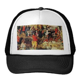 Pieter the Elder Art Trucker Hats