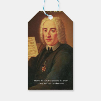 Pietro Alessandro Gaspare Scarlatti Gift Tags