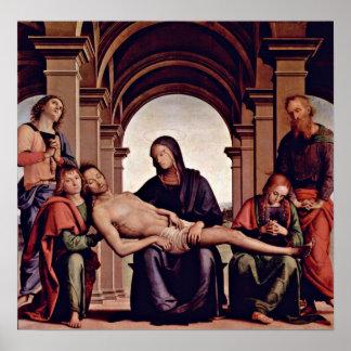 Pietro Perugino - Pieta Poster