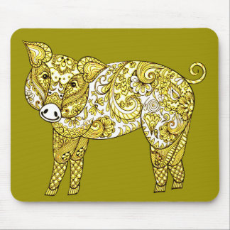 Pig 2 mouse pad