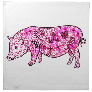 Pig 3 napkin