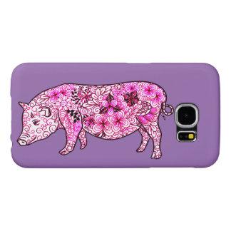 Pig 3 samsung galaxy s6 cases