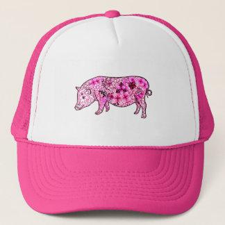 Pig 3 trucker hat