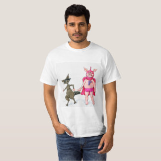Pig and Raccoon T-Shirt