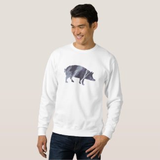 Pig art sweatshirt