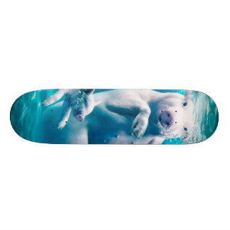 Pig beach - swimming pigs - funny pig 20 cm skateboard deck