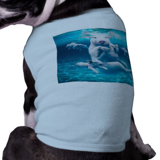 Pig beach - swimming pigs - funny pig shirt