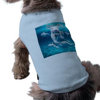 Pig beach - swimming pigs - funny pig shirt