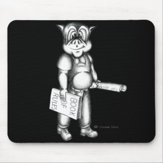 PIG: Book of Rules Mouse Pad