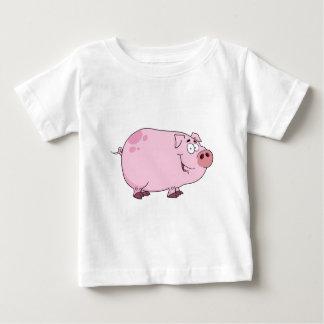 Pig Cartoon Character Baby T-Shirt
