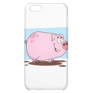 Pig Cartoon Character Case For iPhone 5C