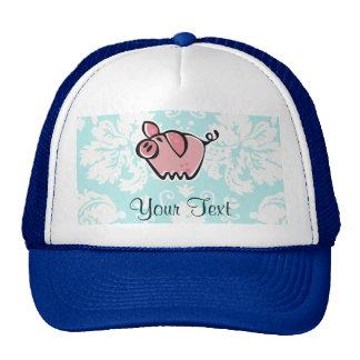 Pig Cute Mesh Hats