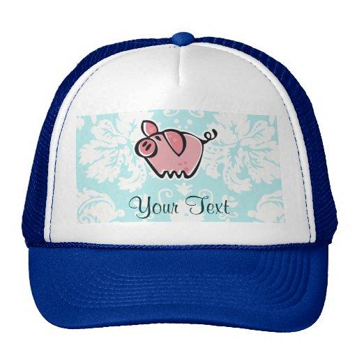Pig; Cute Mesh Hats