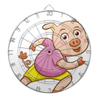 pig dartboard