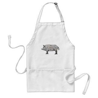 Pig Diagram Standard Apron