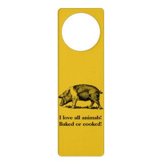 Pig Door Hanger
