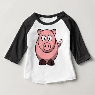 Pig Drawing Baby T-Shirt