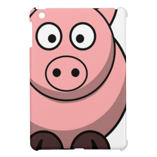 Pig Drawing iPad Mini Cases