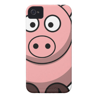 Pig Drawing iPhone 4 Case