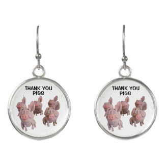 PIG EARRINGS - Natural Desiccated Thyroid