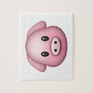 Pig - Emoji Jigsaw Puzzle