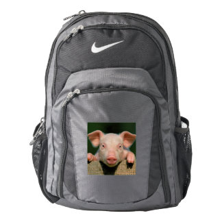 Pig farm - pig face backpack