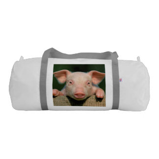 Pig farm - pig face gym bag