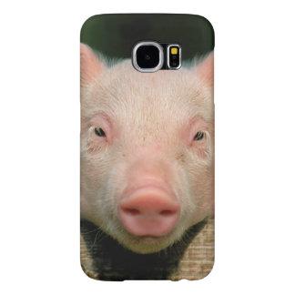 Pig farm - pig face samsung galaxy s6 cases