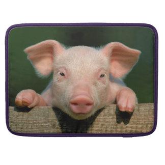 Pig farm - pig face sleeve for MacBook pro