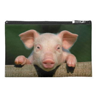 Pig farm - pig face travel accessory bag